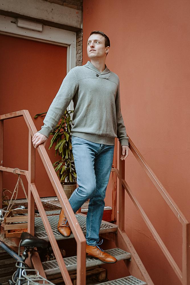 Profiel foto fotoshoot Den Bosch ruw